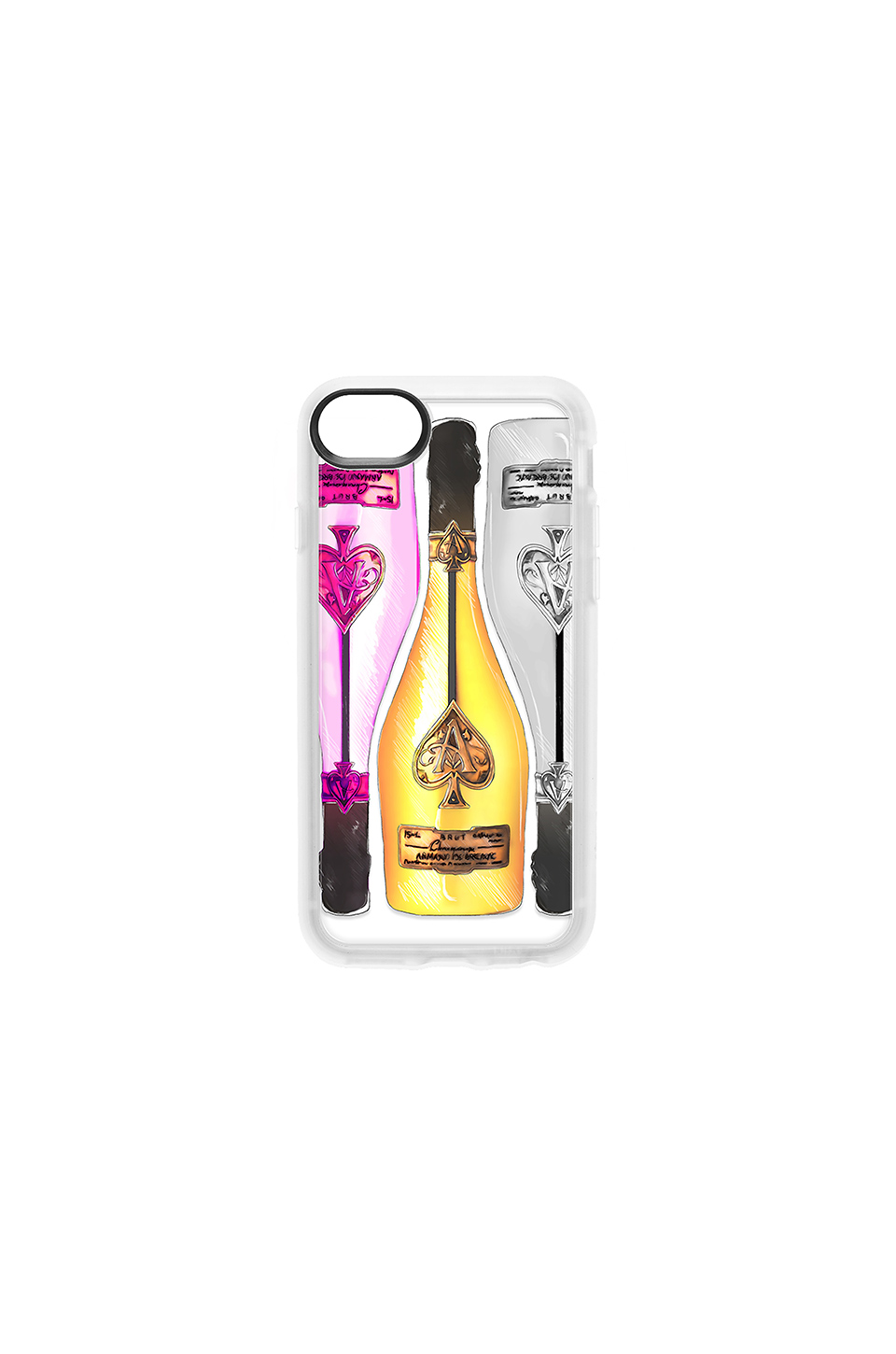 Casetify Ace of Spades iPhone 6/7/8 Case in Multi