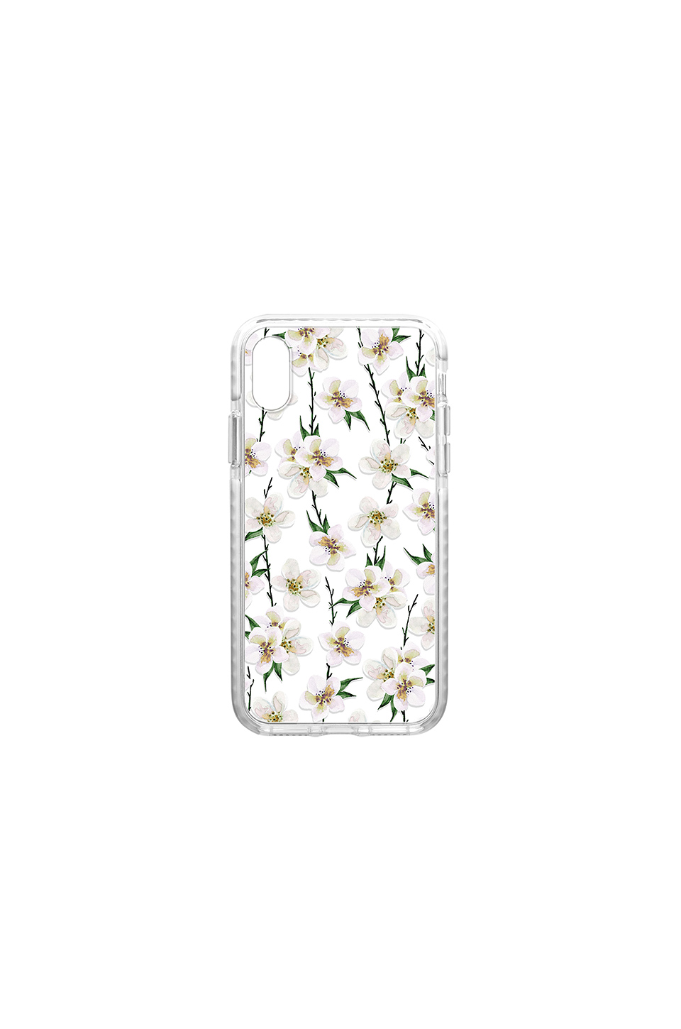 Casetify White Floral iPhone X Case in Multi