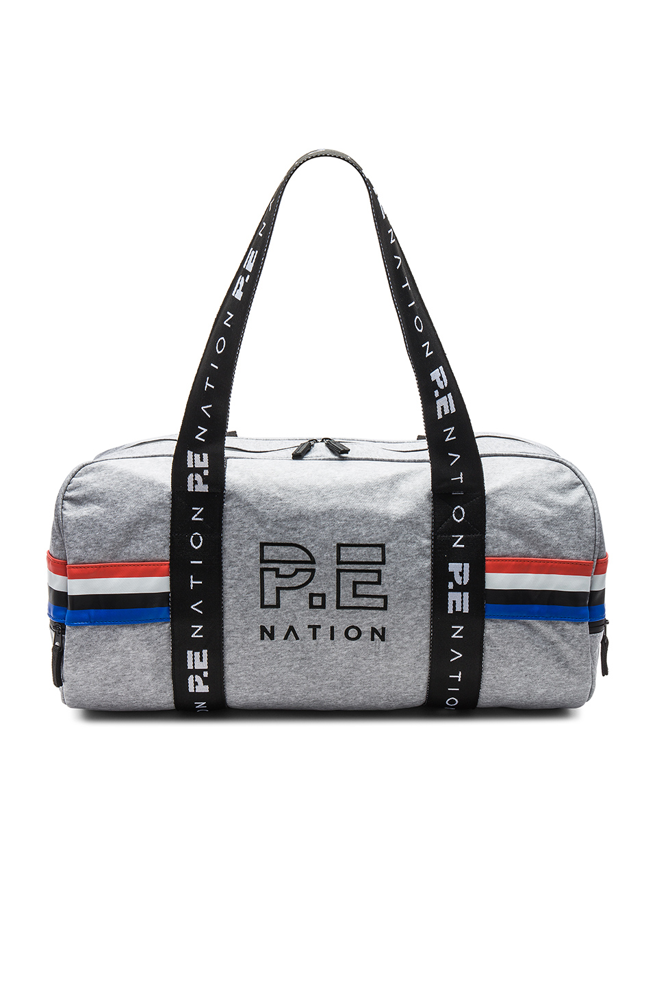 P.E Nation Final Round Duffle Bag in Grey Marl