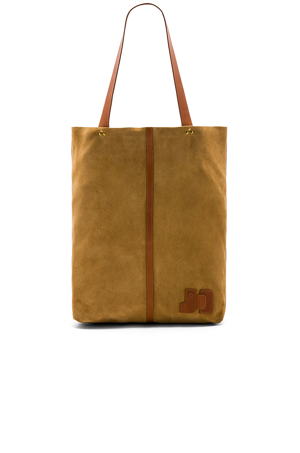 Jerome Dreyfuss Gilles Tote in Chamois
