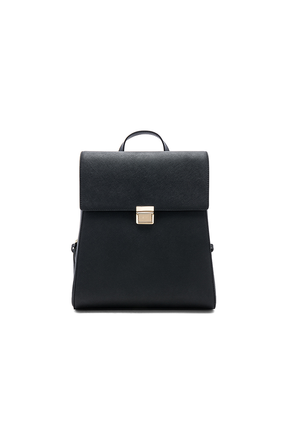 the daily edited Structured Backpack in Black