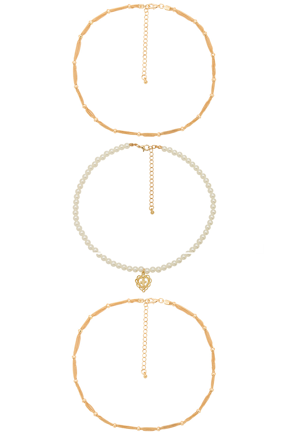 8 Other Reasons Queen Necklace in Gold