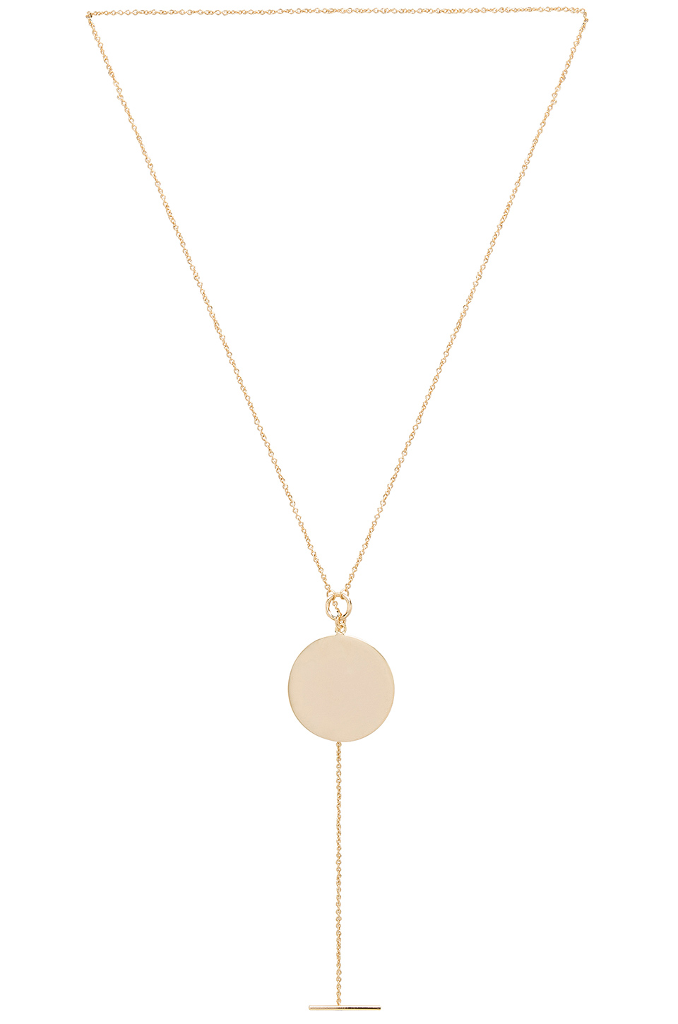 Melanie Auld Toggle Pendant in Gold