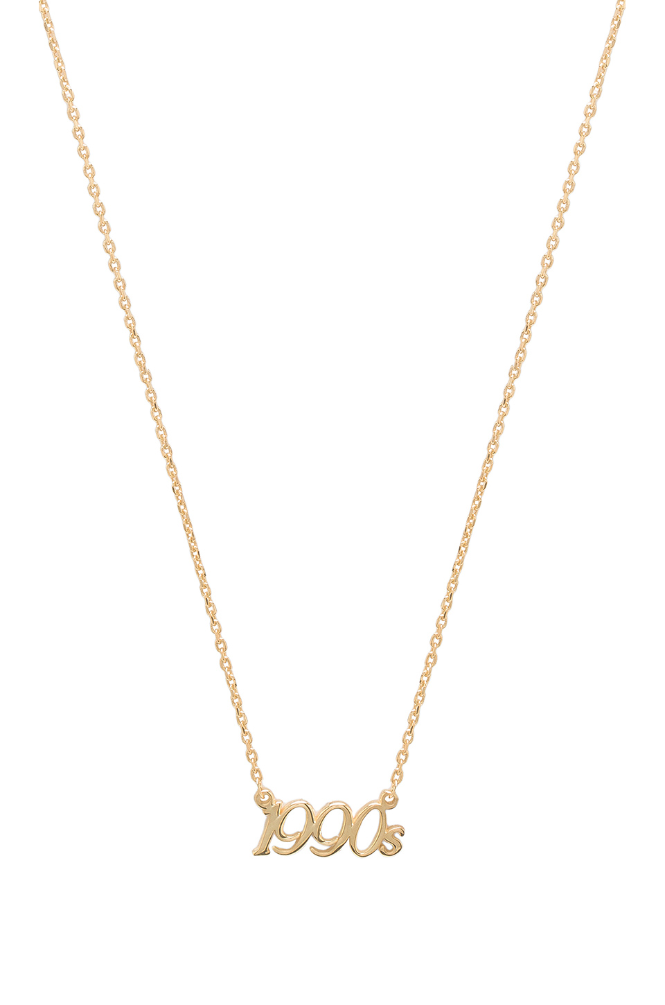 Natalie B Jewelry X 1990's Charm Necklace in Gold
