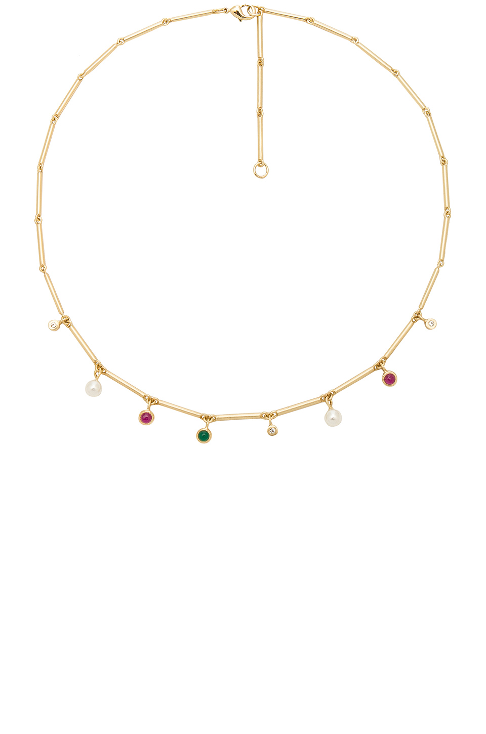 Elizabeth and James Zoe Necklace in Yellow Gold