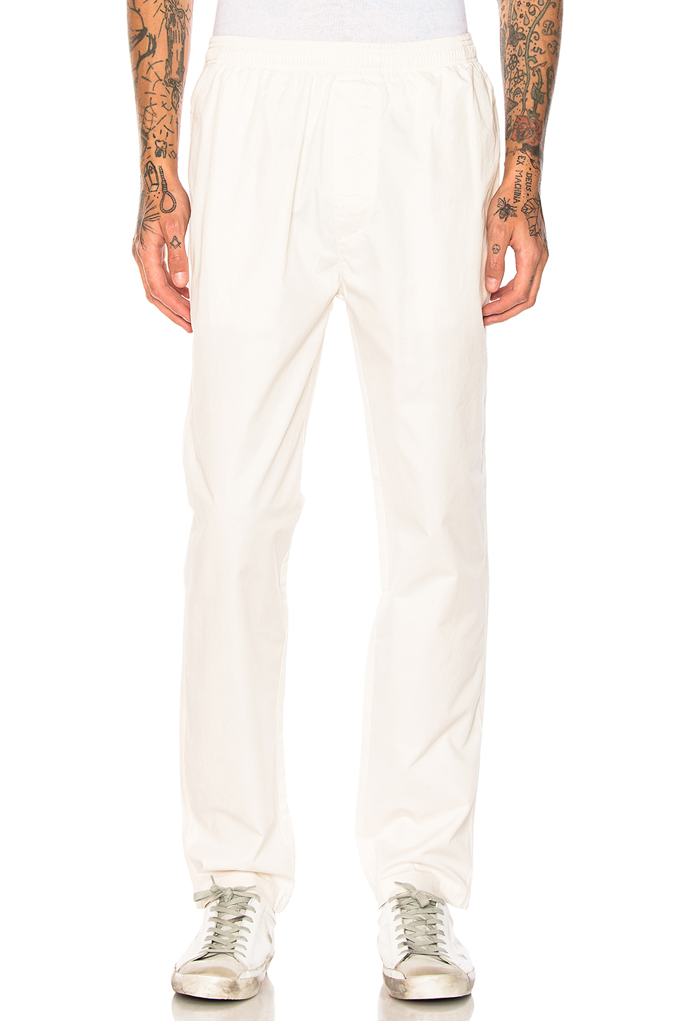 Stussy Light Twill Beach Pant in Natural