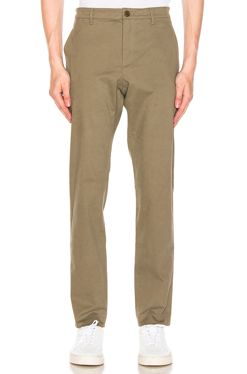 A.P.C. High Chino in Taupe