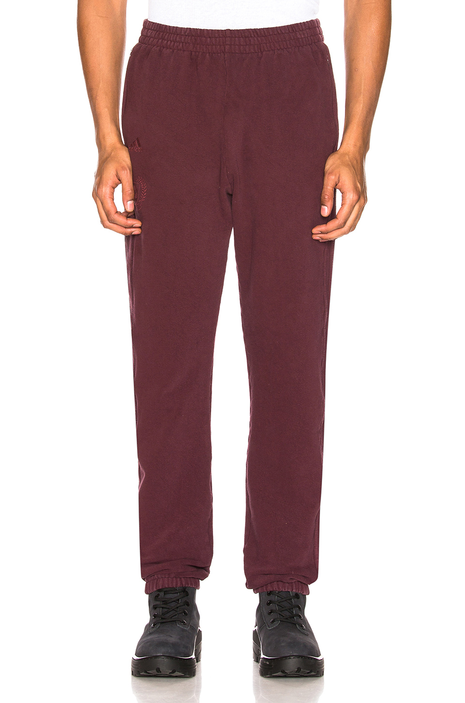 YEEZY Season 5 Calabasas Sweatpants in Oxblood