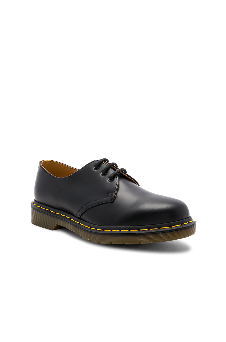 Dr. Martens 1461 3 Eye Gibson in Black