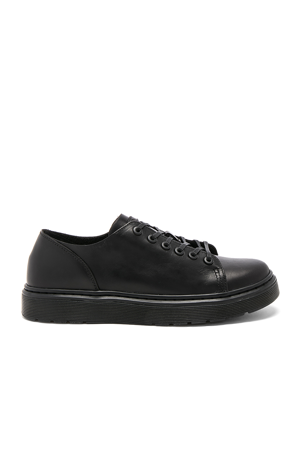 Dr. Martens Dante 6 Eye Leather Shoes in Black