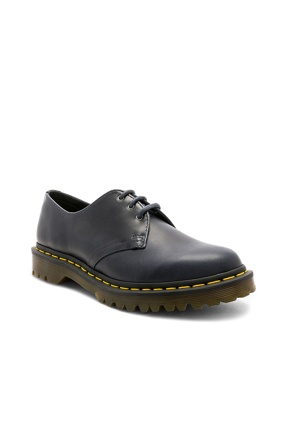 Dr. Martens Orleans 1461 3 Eye Shoe in Navy