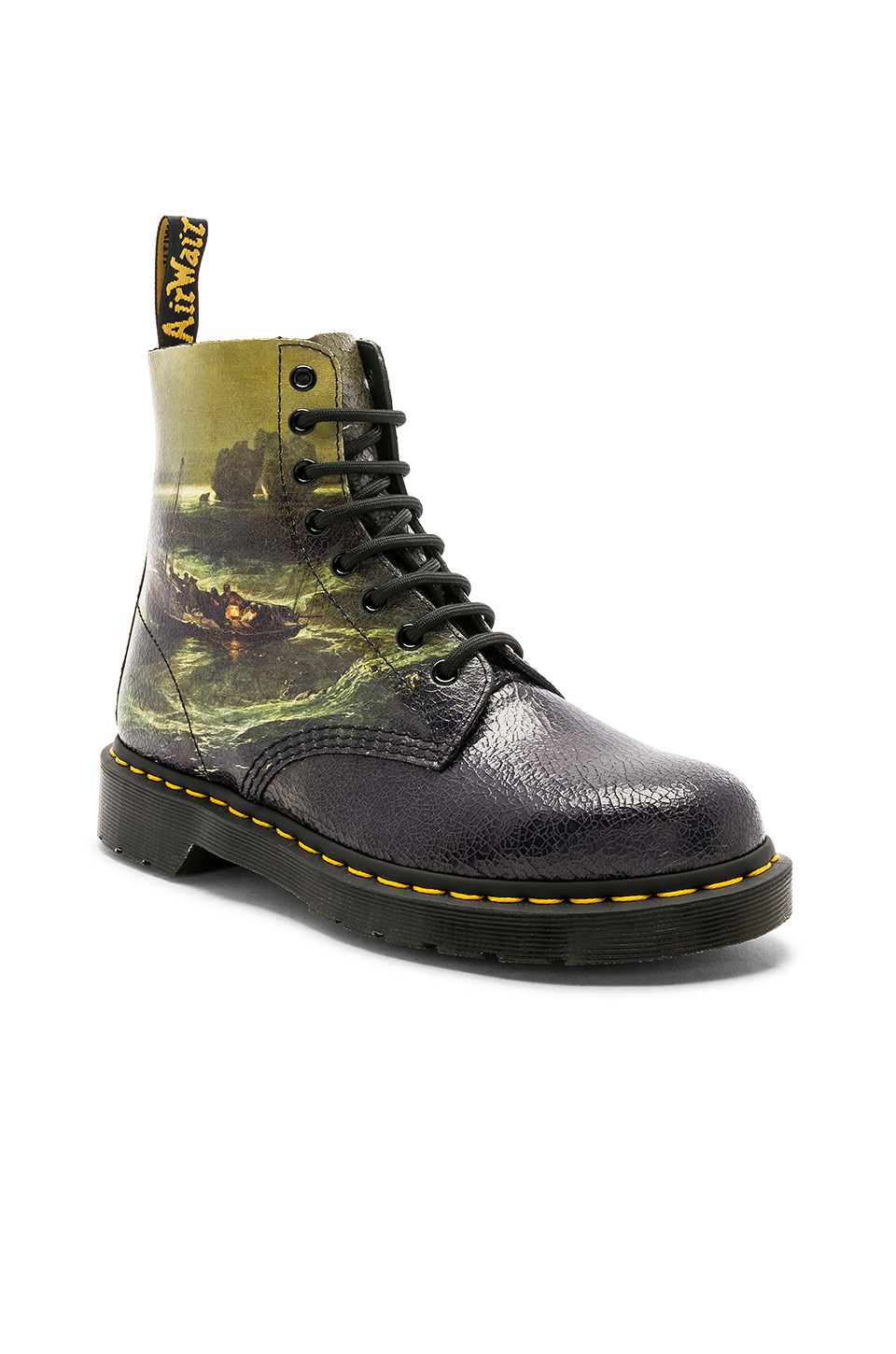 Dr. Martens x Tate Britain Cristal Boots in Fisherman at Sea
