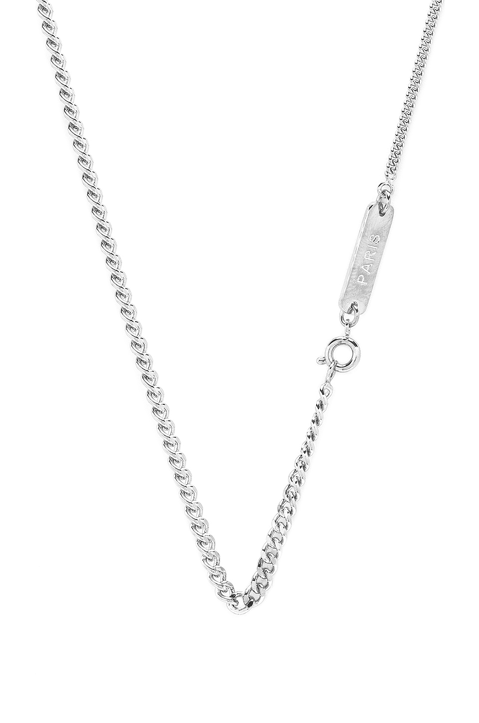 A.P.C. Collier Mael in Argent