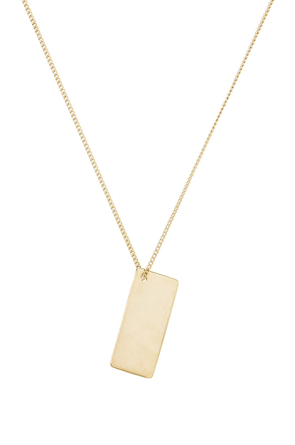 A.P.C. Lord Necklace in Or Clair