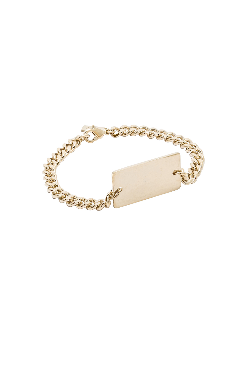 A.P.C. Lord Bracelet in Or Clair