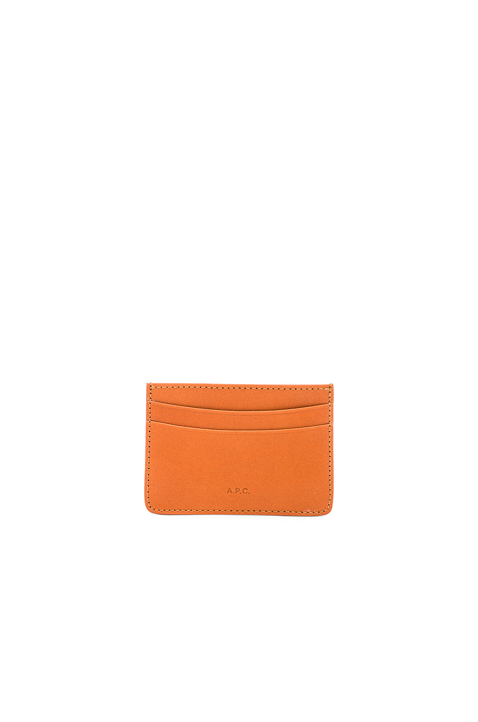 A.P.C. Porte-Cartes Andre in Caramel