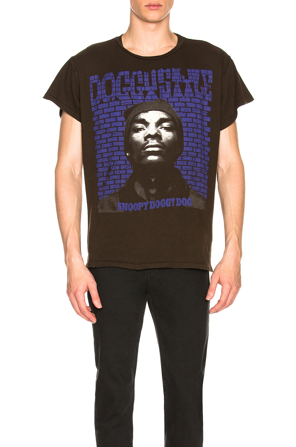 Madeworn Snoop Dogg Tee in Dirty Black