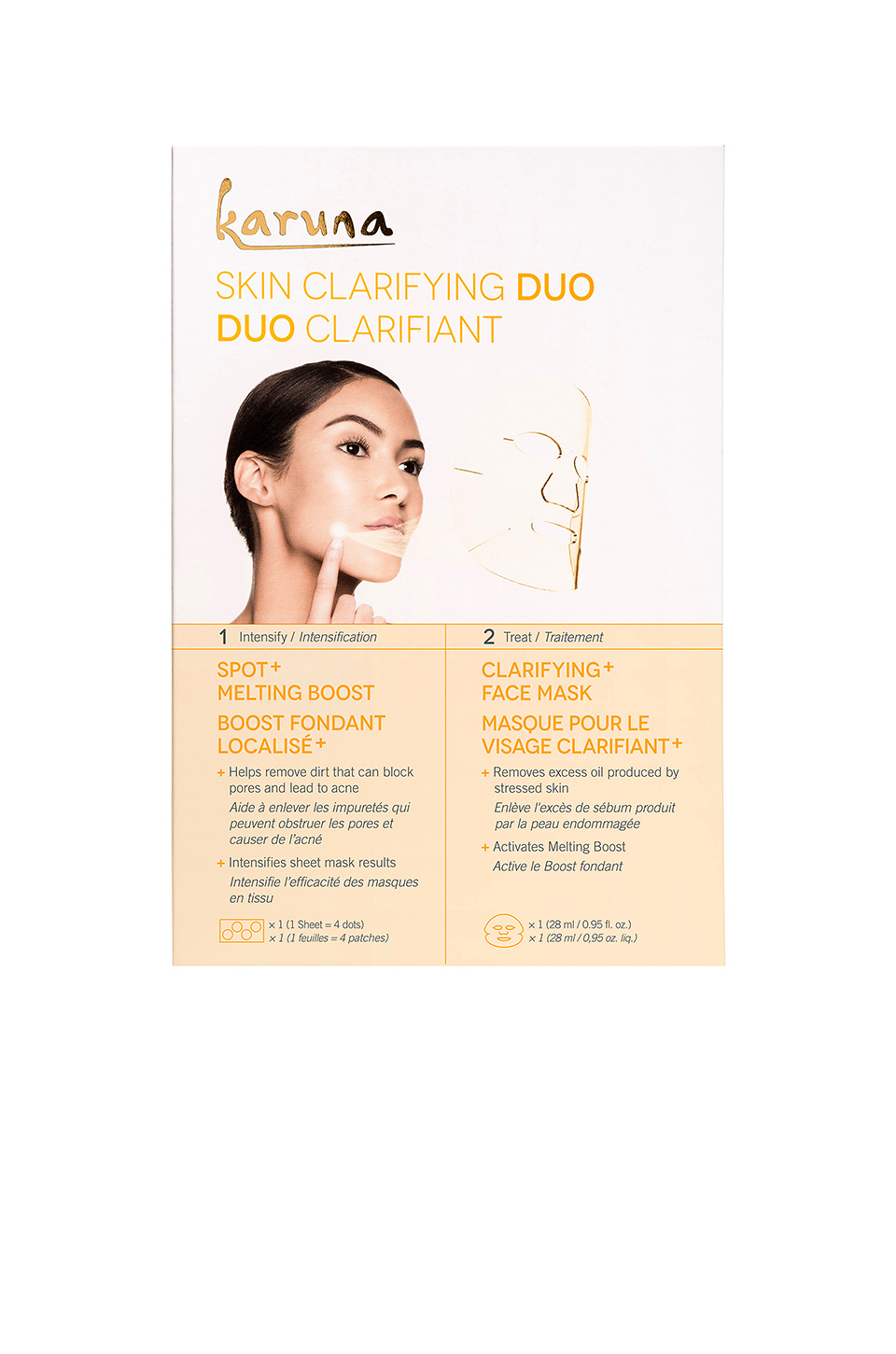Karuna Skin Clarifying Duo in
