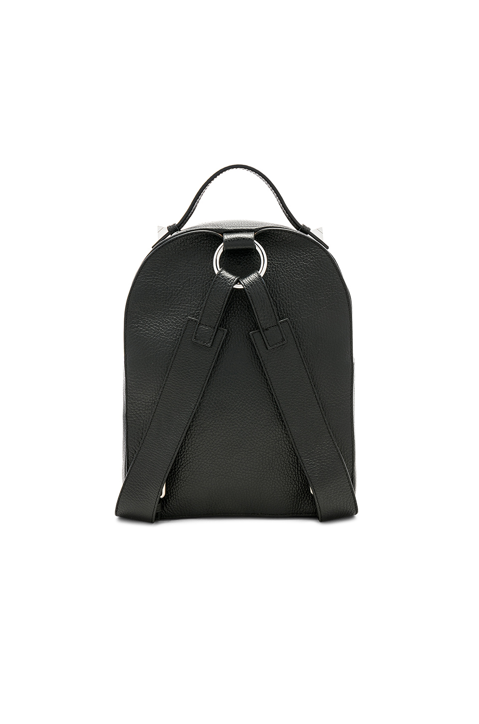 SALAR Yumi Grain Backpack in Black