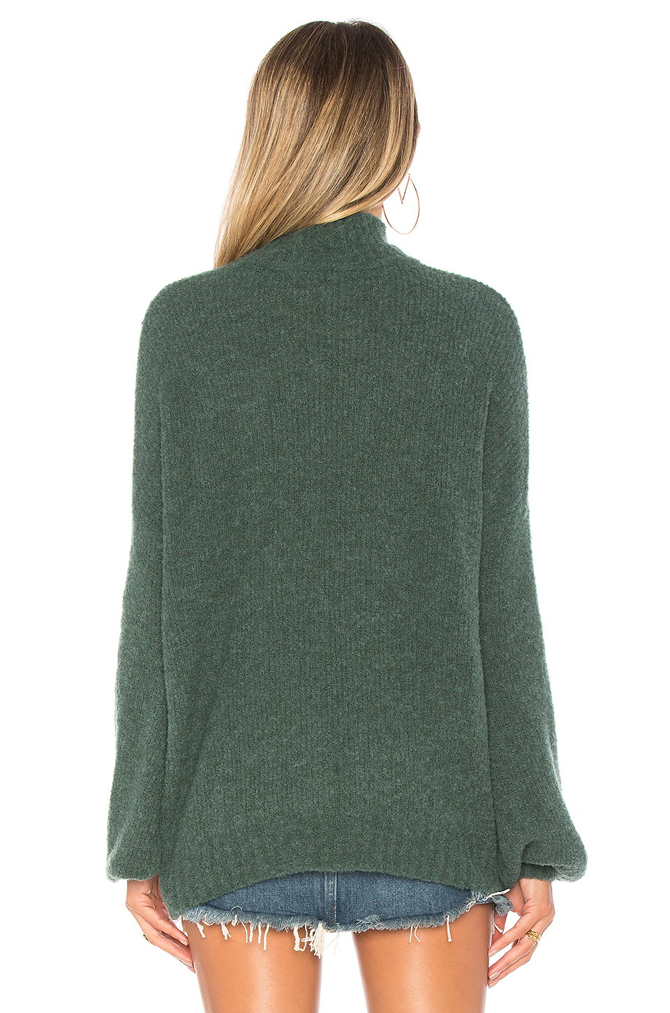 Lovers + Friends Independent Sweater in Evergreen