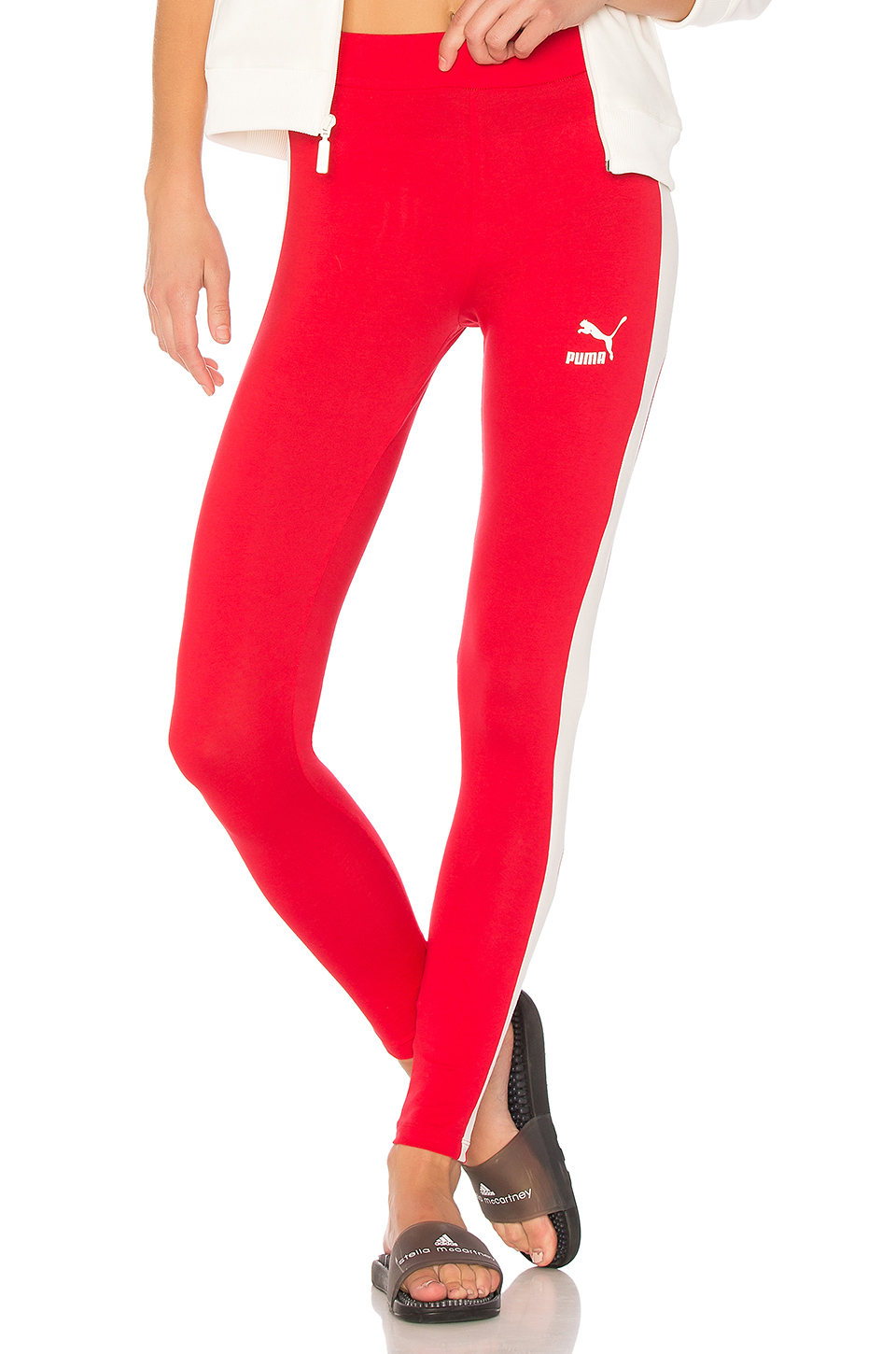 Puma Archive Logo T7 Legging in Toreador Marshmallow